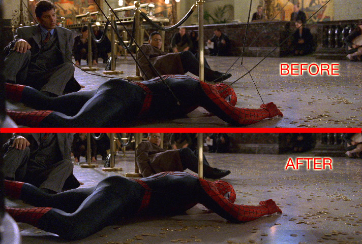 spiderman 2 roto 1